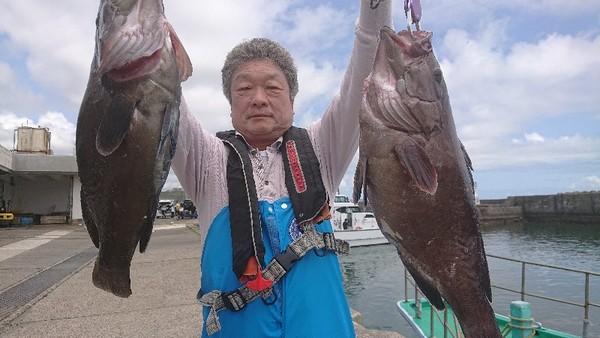 外房勝浦川津のマハタ狙い&スルメイカ!!。のサムネイル