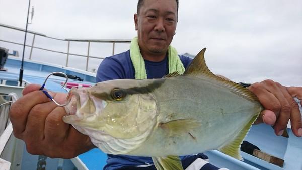9月13日 外房勝浦川津のP.M.ルアー!!。