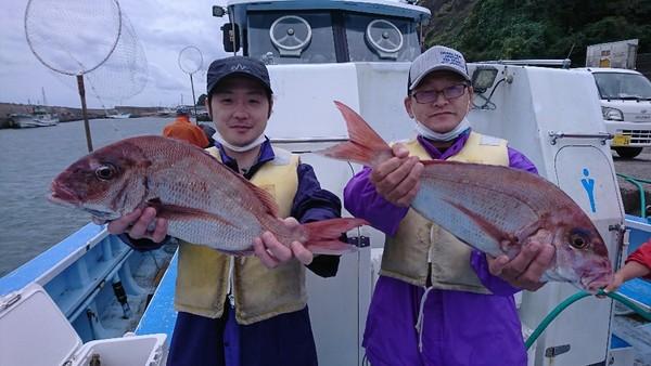 10月7日 外房勝浦川津のカモシ釣り!!。のサムネイル