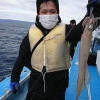 2月14日 外房勝浦川津の寒サバ〜イカのリレー釣り!!。のサムネイル