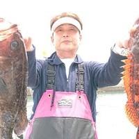 5月30日 外房勝浦川津のマハタ根魚五目!!。のサムネイル