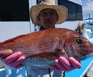 7月25日 カモシ釣りで型でした!!。