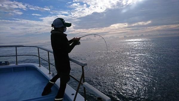 9月11日 午前船のSLJは絶好調〜!!。(その1)のサムネイル