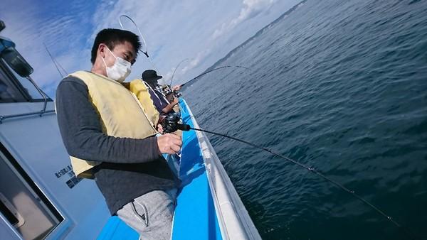 9月11日 午前船のSLJは絶好調〜!!。(その2)のサムネイル