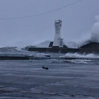 10月1日 15時現在、台風通過中のサムネイル